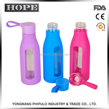 Eco-Friendly 600ml Tritan&PP outer covering sports water bottles bpa free