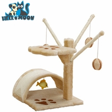 3 Color Best Small Pet Cat Tree Tower Condo