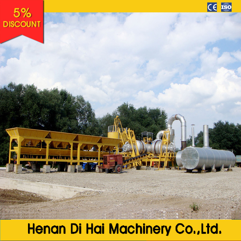 LB800 64tons per hours asphalt batching plant with competitive price for sale