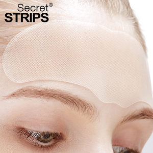 private label beauty anti aging anti wrinkle forehead patch
