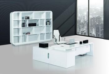 Scrivania Ufficio Bianco Lucido : Di lusso scrivania bianca buy scrivania bianca tavolo da