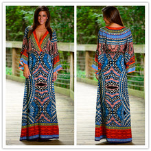 Ladies Evening Dress African Kitenge Designs Maxi Dresses for Women LC112