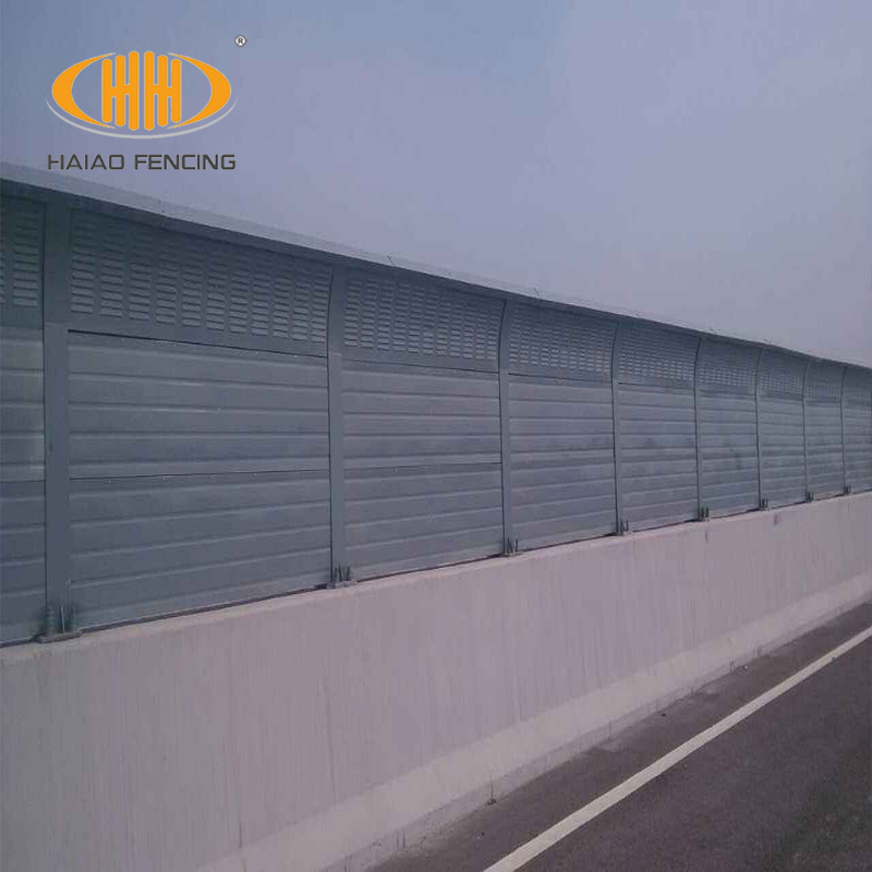 Aluminium Acoustic Sound Absorbing Metal Noise Barrier Panel Wall Expert -  Buy Noise Barrier,Noise Barrier Panel,Highway Noise Barrier Product on