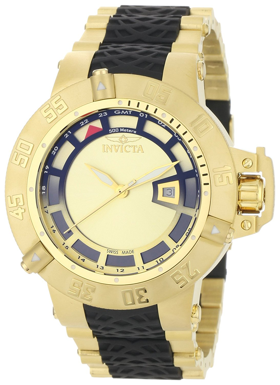 Invicta Men's 6511 Subaqua Noma III Collection 18k Gold-Plated Watch