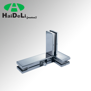 Haideli High Quality Stainless Steel Glass Door Clamp Left Side