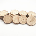 4~6CM Natural Wood Slices With Holes For Arts And Crafts