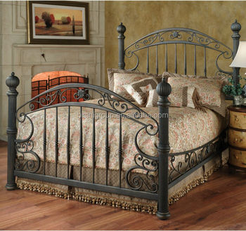 French Style Wrought Iron Double Bed Bf10 M731 Buy