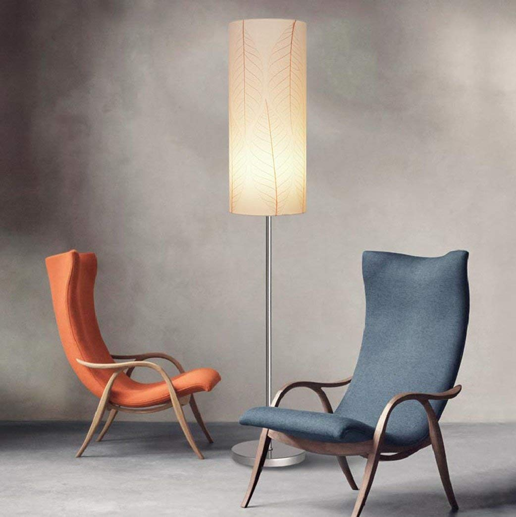 DEED Floor Lamp-Led Modern Simple Floor Lamp Living Room Study Bedroom Bedside Lamp Creative Retro Vertical Light Fabric Lamp,E27 Eye Protection Vertical Table Lamp