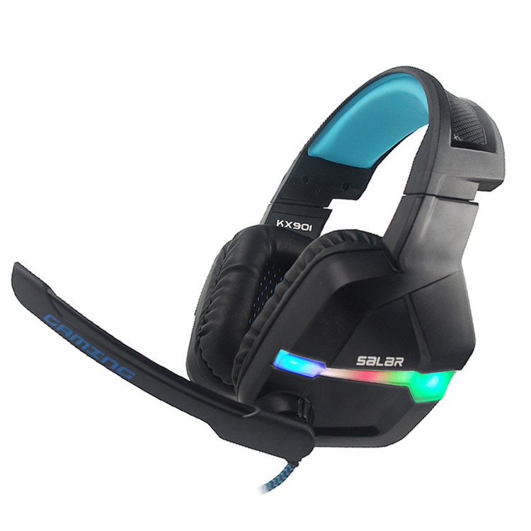 Amazon top seller nuovo prodotto 2019 stereo wired Gaming Headset cuffia microfono a cancellazione di rumore cuffie