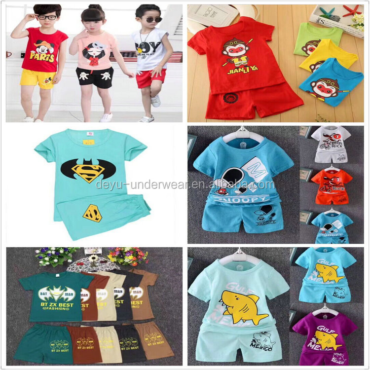 1.3USD Top Cheap Boys And Girls Kids Suits Same Photos Long Sleeve T Shirt/Suit/Clothes (gdzw236)