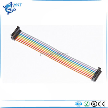 He13 Idc Harness Multi Coloured Flat Cable - Buy Custom Lcd Tv Lvds Extension Cable,Electric Wire Cable,Wires And Cables Product on Alibaba.com