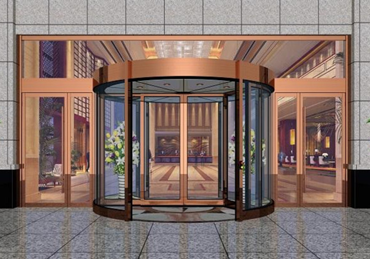 Hotel Entrance Doors : Best quality hotel entrance wings automatic revolving