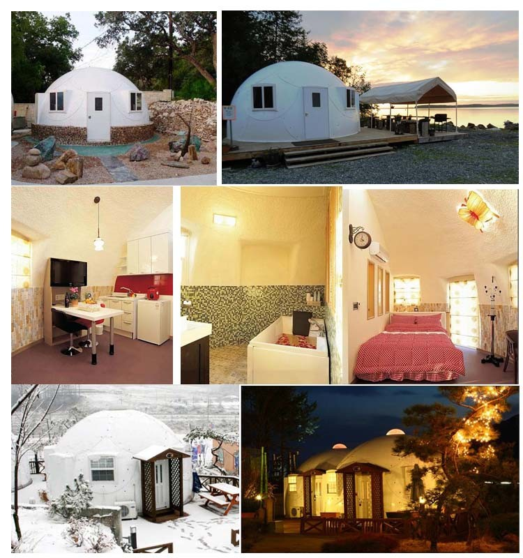 Prefab Dome Homes: Prefabricated Dome Houses For Tourism Villa