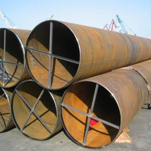 "API 5L PSL1 X80 SSAW 48"" large diameter welded carbon steel pipes for piling industry"