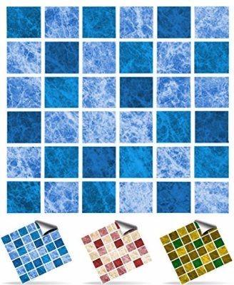Porcellana oem fabbrica mosaico tipo gel mattonelle della for Adesivi per mattonelle