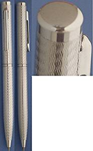Nisstiiv 999 Sterling Silver Dunes Ballpoint Pen Rising Silver Prices an Investment to Enjoy