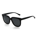 Well-groomed face acetate 50% OFF square lens sunglasses sun glasses for women