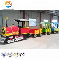 Amusement Park Electric Kids Mall Trackless Tour Train For Sale