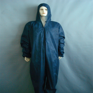 PP/SMS Medical Disposable Nonwoven PPE working coverall For Adults And Kids