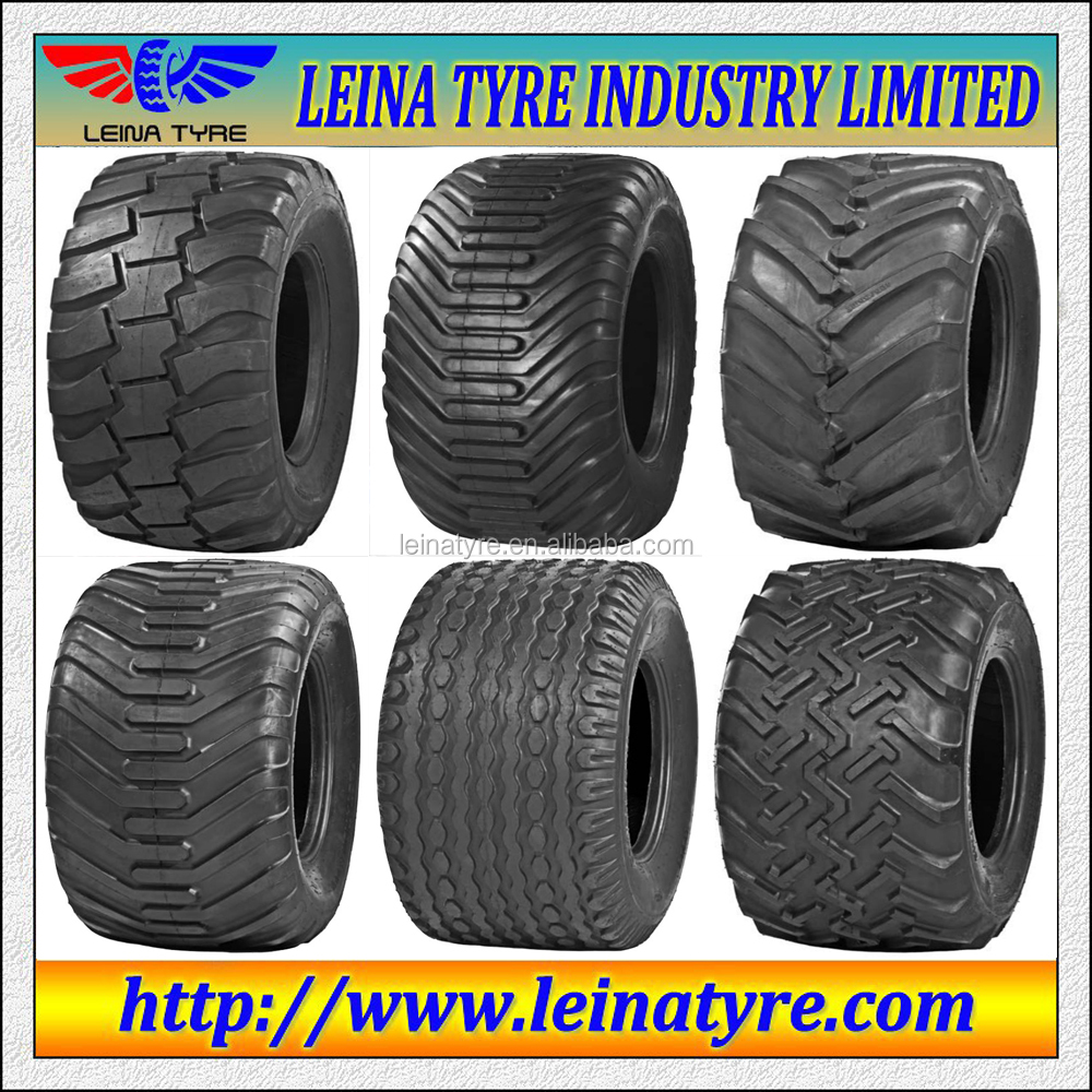 Chinese Tyres Mail: IMPT5 Pattern Code F-3 Tubeless Flotation Implement Tyre