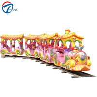 Toda Electronic game machine toys electric car racing track train amusement equipment track for sale
