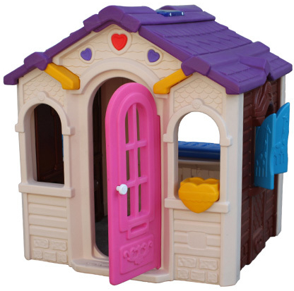Colorful Kids Playhouse Furniture / Kids Plastic Playhouse For Sale  (QX 158A) Part 97