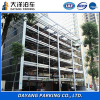 Overcoming parking spaces constraints auto lifting mechanical garage hydraulic automatic car parking stacking system