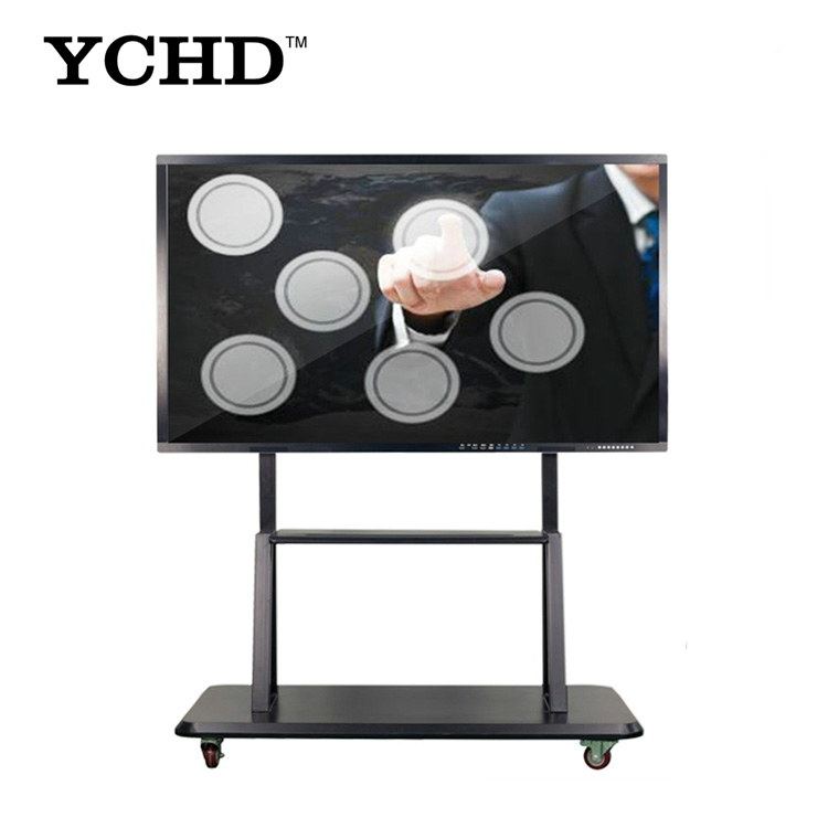 86 Inch Ultra HD 4K Portable wireless LED Interactive Touch Screen Monitor LCD Smart Board TV With PC All In One
