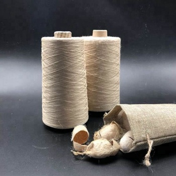 Produce industry spun silk products