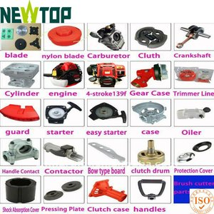 Brush Cutter Spare Parts for Brush Cutter /blades/Trimmer line/case/easy starter