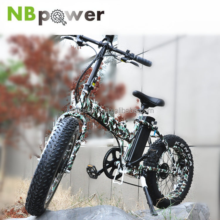 20 Inch Mini Fat Tire Folding Ebike