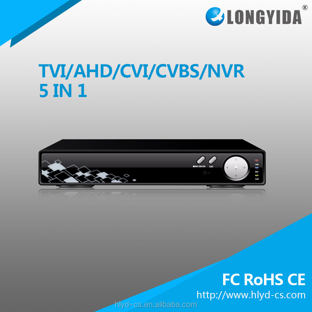 Chinese Wholesale 4 channel 12v dvr recorder 5 In 1 DVR