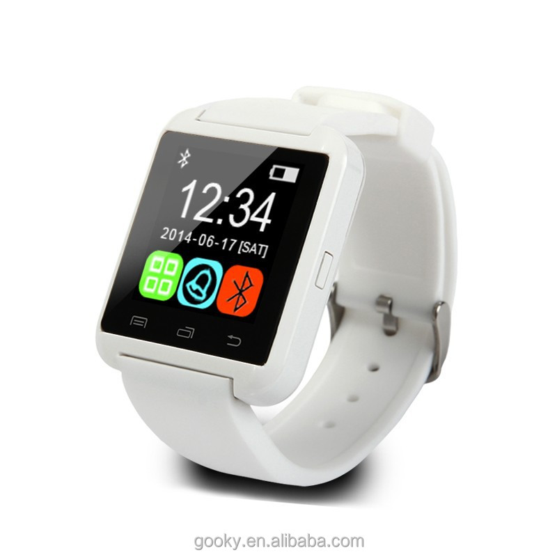 2017 Top selling bluetooth smart watch factory price for iphone/android 4.0 Smart Watch U8 DZ09