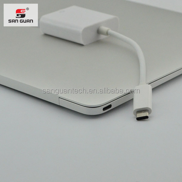 Factory price USB 3.1 type c to VGA digital adapter cable