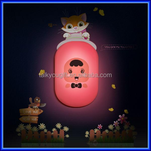 3d Decorative Cartoon Wallpaper Kids Wall Light,Diy Led Children ...