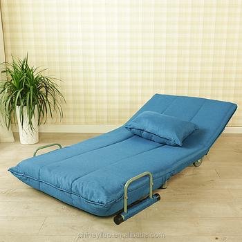 YLCT015 High Quality Sofa Designs Hot Selling Corner Folding Single Leisure  Bed Sofa