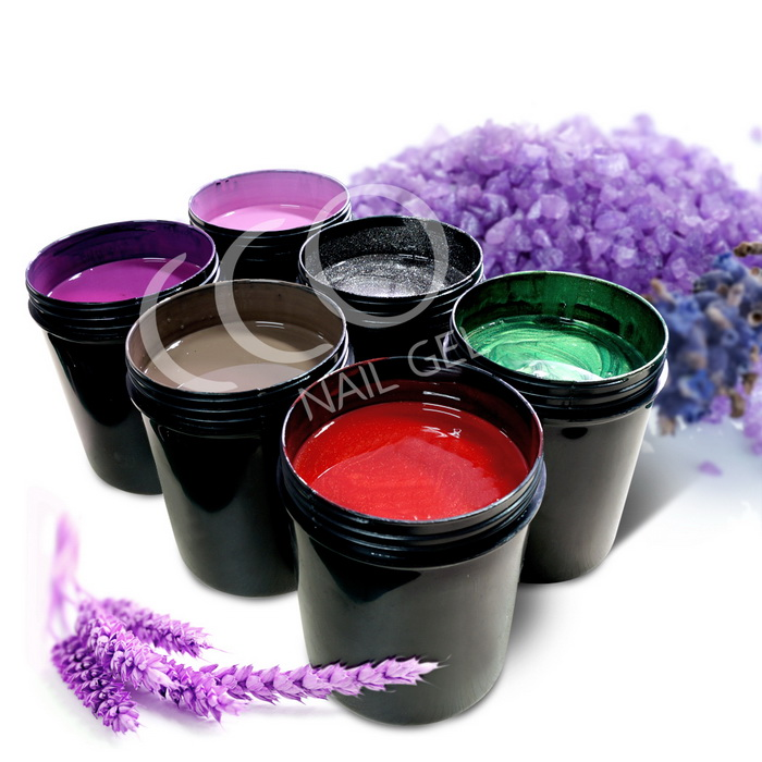Wholesale 100% pure natural organic material fruit nail gel soak off UV gel nail polish