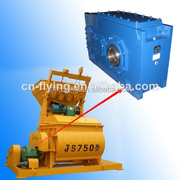 HC series parallel shaft industrial gearbox for goog quality mixer with fuel tank
