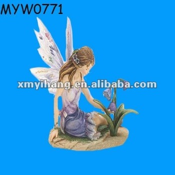 New Fashion Resin Collection Wholesale Fairy Figurines Glen Handmade Fairy  Garden Items