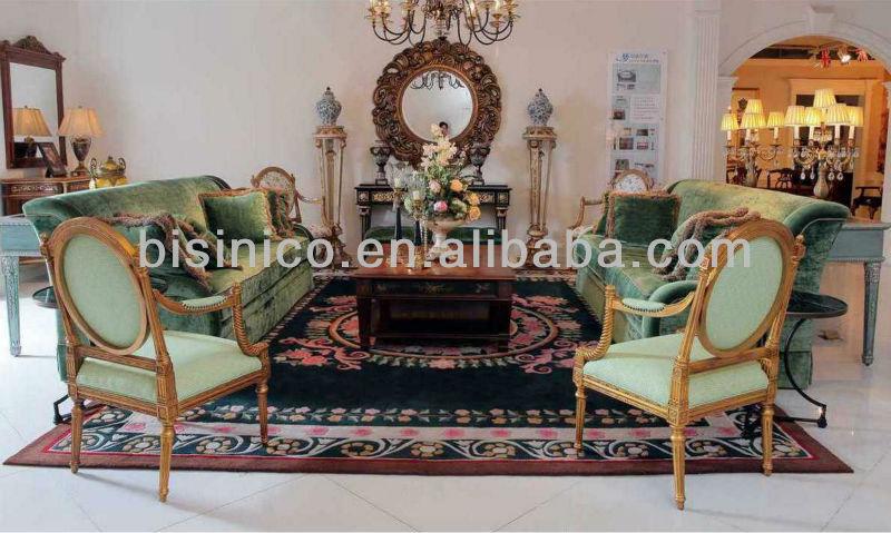 Verde lungo divano divano set windsor britannico in stile vittoriano mobili soggiorno set - Mobili stile vittoriano ...