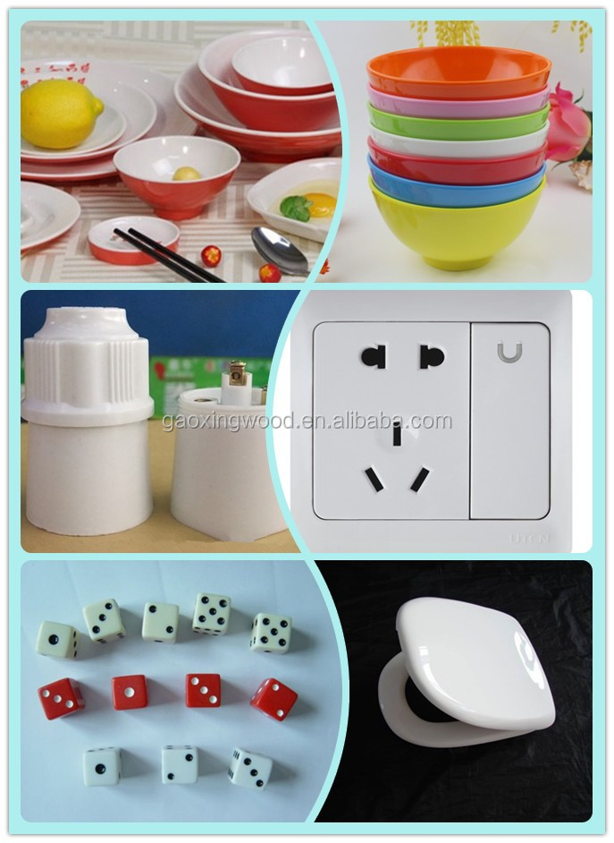 Melamine Plastic A5 Powder For Melamine Tableware