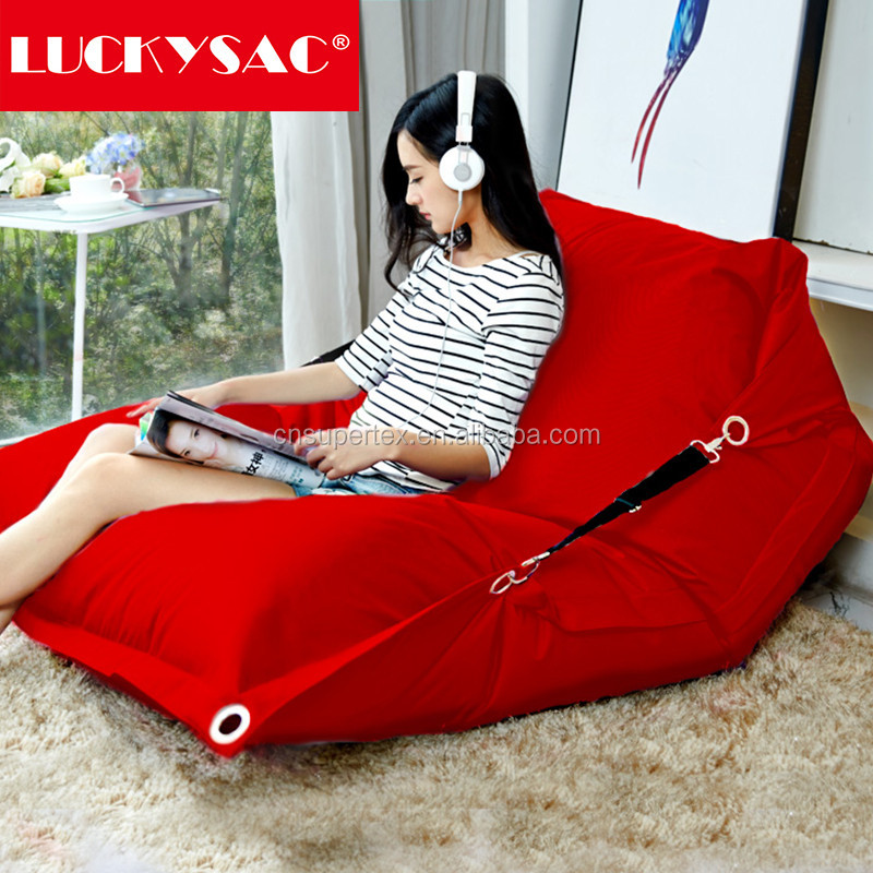 Customized printing indoor/outdoor bean bag chairs wholesale