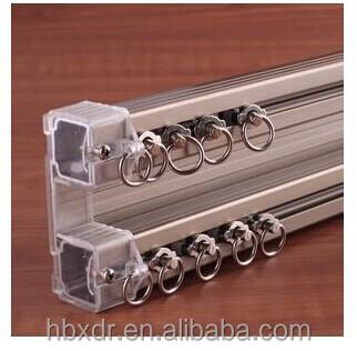 Oem En Aluminium Coulissante Double Tringle A Rideau Double Glissiere De Voie De Rideau Buy Voie De Rideau Double De Plafond Voie De Rideau