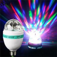 Buy E27 RGB Color Changing Led Rotating in China on Alibaba.com
