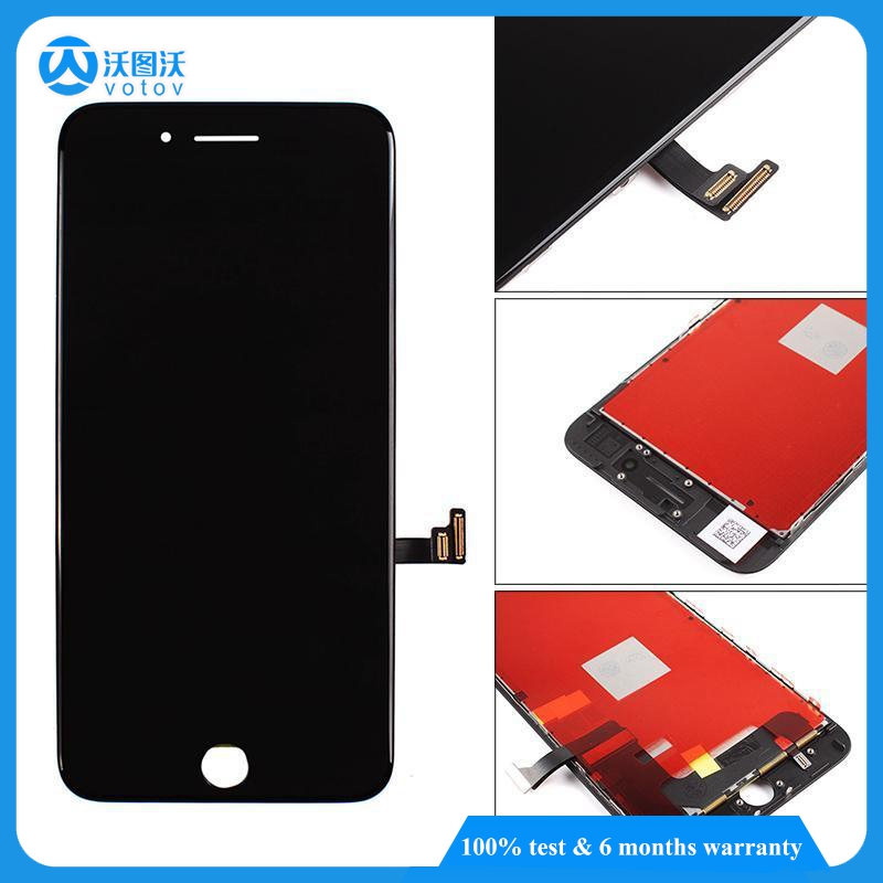 AAA OEM Quality For iPhone 7 LCD Screen Black With Repair Fix Small Parts Replacement Good 3D Touch Display Competitive Price