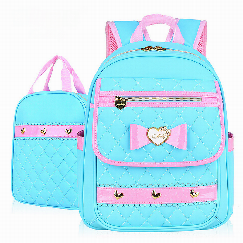 2016 Fashion Grade1-6 Orthopedic Breathable Children Primary School Bags For Teenagers Girls Mochila Schoolbags Kids Backpack