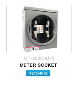 Square D 200 Amp Aluminum Residential Standard Quality Meter Socket