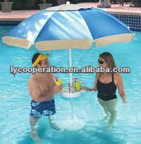 Image Gallery Insidepool Umbrella