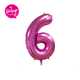 "40 inch large number balloons giant foil 40"" purple number balloons for anniversary decoration"