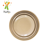 Factory supply organic fiber natural rice husk pizza plate
